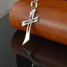 AD1 Silver Cross Pendant