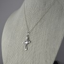 AD2 Silver Cross Pendant