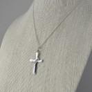AD3 Silver Cross Pendant